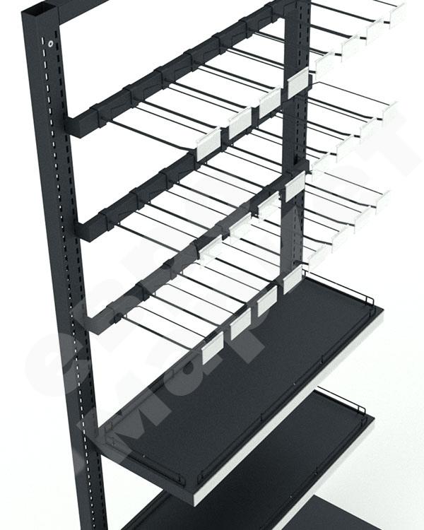Модуль пристенный с крючками