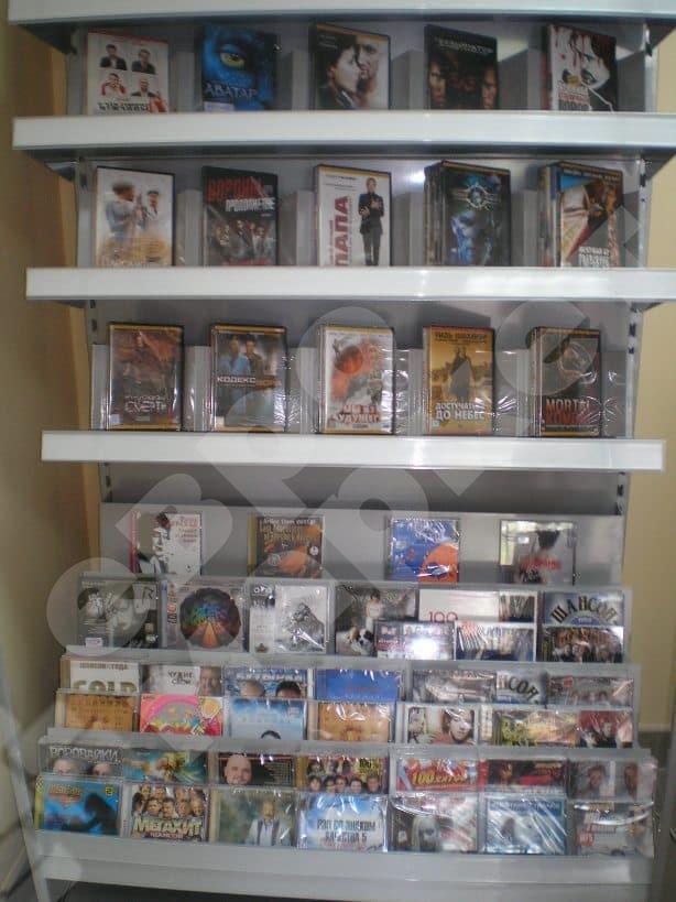 Стеллаж для продажи CD/DVD дисков