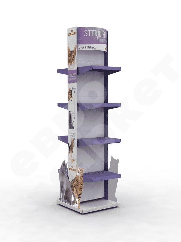 Рекламная стойка для зоомагазинов