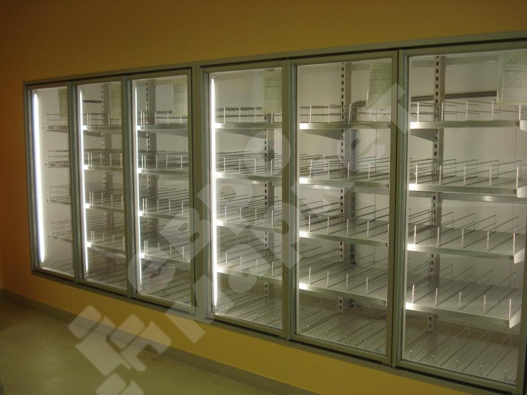 Холодильный стеллаж