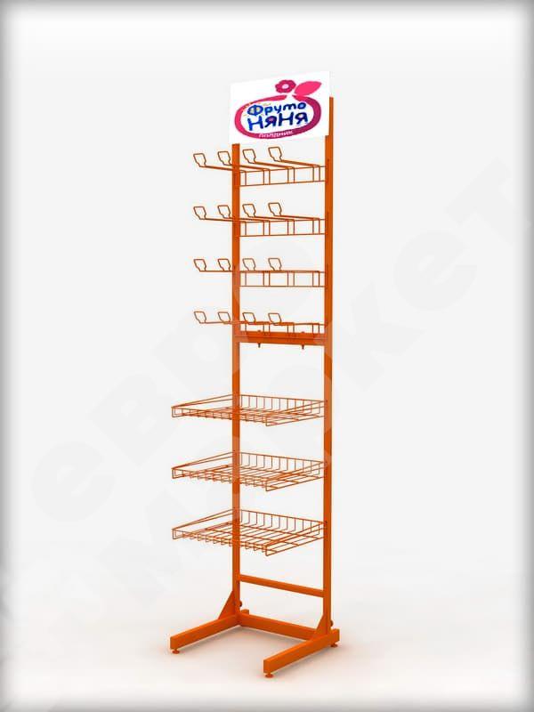 Рекламная стойка для детского питания