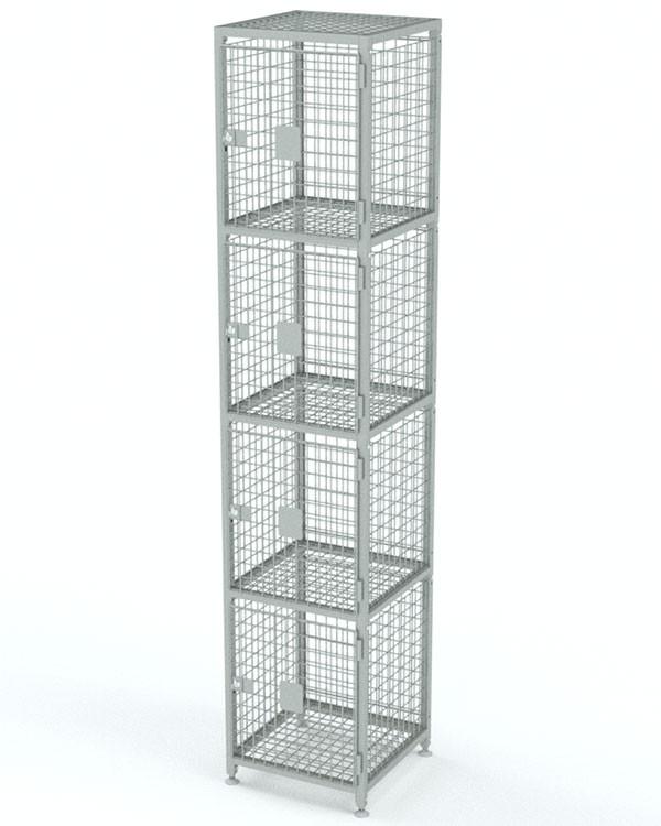 Вертикальная сумочница 4 ячейки